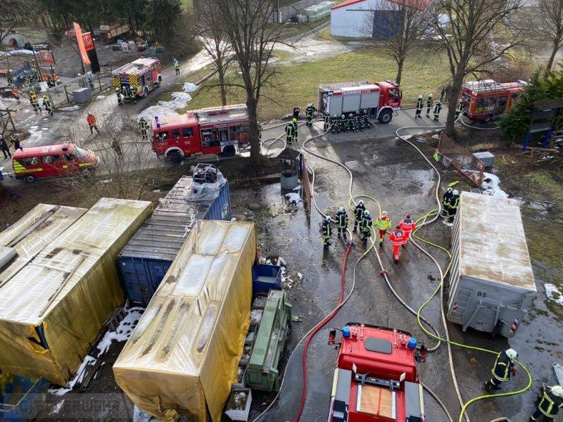 Brandeinsatz vom 19.02.2021     (C) Freiwillige Feuerwehr Bergstadt Bad Grund (Harz) (2021)